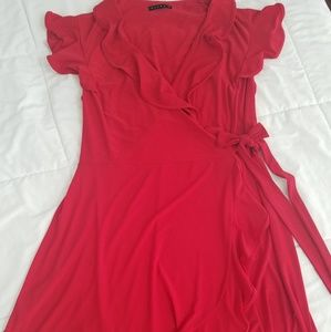 Red Havana Dress by Tiana B., XL, sultry & playful